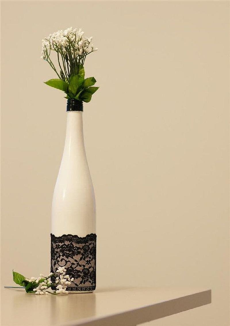 стъклени бутилки