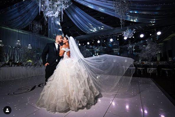 младоженци танц
