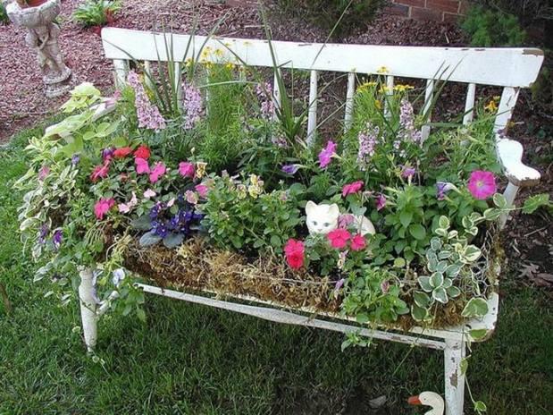 цветя в стара пейка