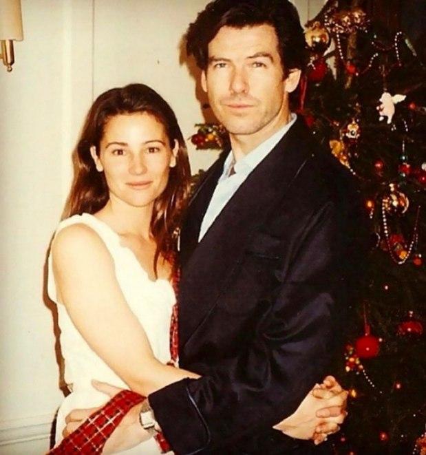 Пиърс Броснан със съпругата си