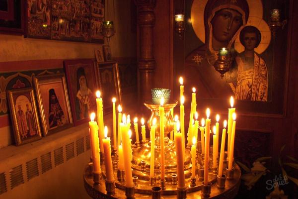 свещник църква