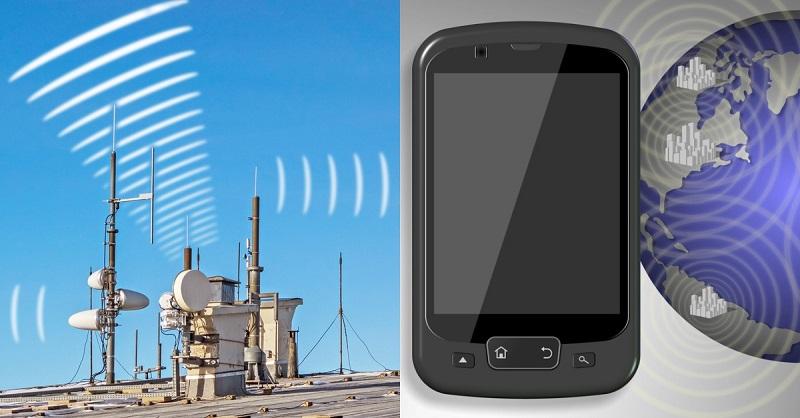 мобилен телефон излъчване