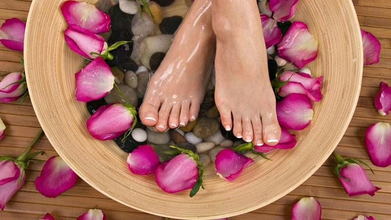Бани за крака със сода
