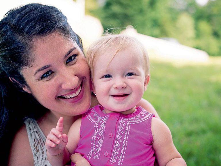 майка и малко дете