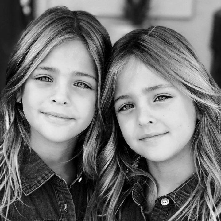 красиви близначки