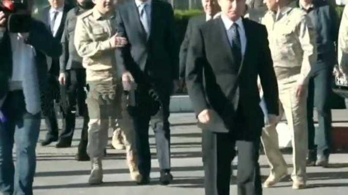بوتين ينسحب من سوريا
