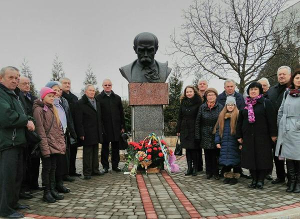 У Мукачеві відзначили 204-ту річницю з дня народження ...