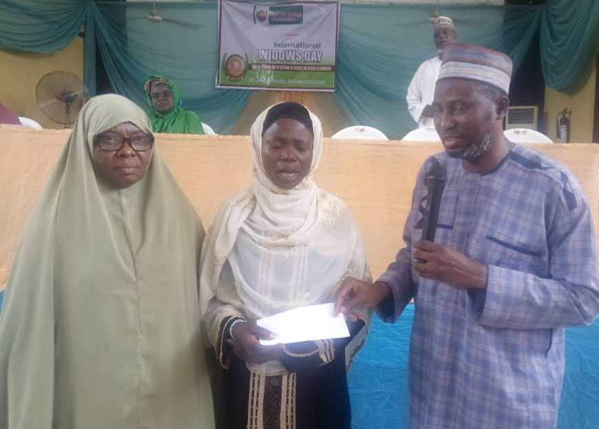 ZSF Lagos State celebrates International Widows Day