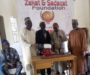 ZAKAT DISTRIBUTION CEREMONY (NIGER STATE), JULY 2019