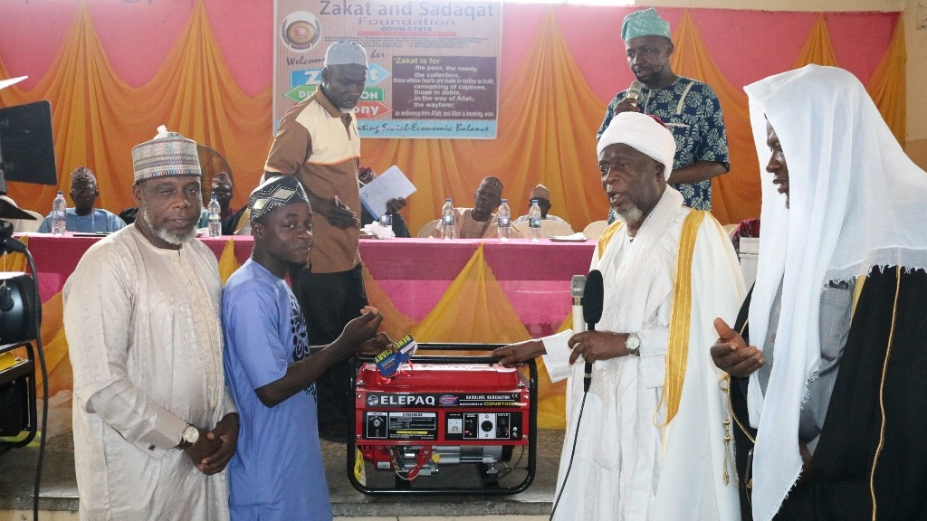 ZAKAT DISTRIBUTION CEREMONY, (OGUN STATE) SEPTEMBER, 2019