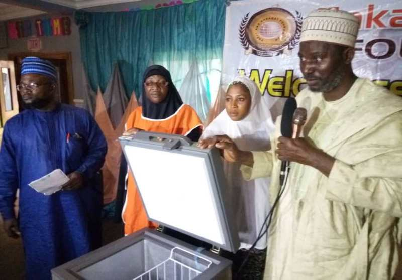 ZAKAT DISTRIBUTION CEREMONY, (KWARA STATE) AUGUST, 2019
