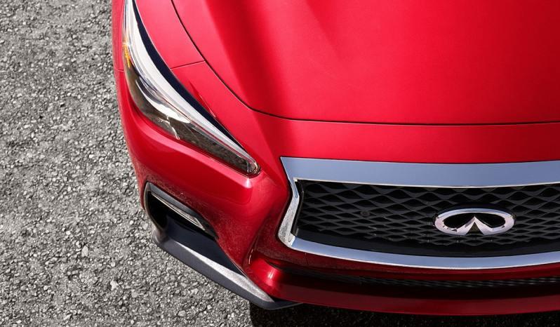 2018 Infiniti Q50 Red Sport 400 HP full