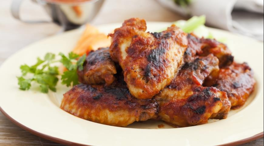 Шашлыки из курицы(крылья куринные)Доставка по ...