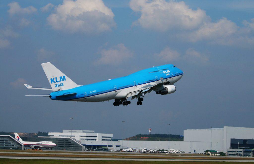 KLM coronasteun