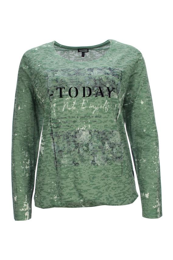 zelené tričko Kenny S