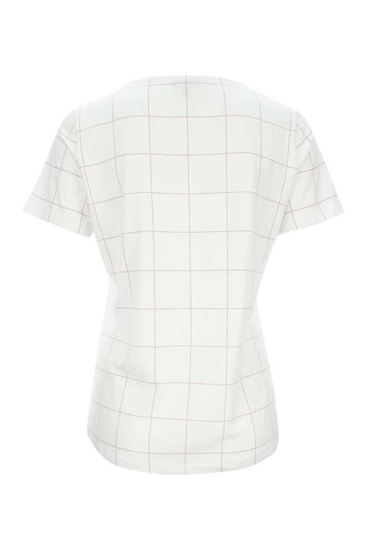 Bílé tričko s akvarel motivem Kenny S. 2