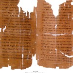 Header, Bible en grec