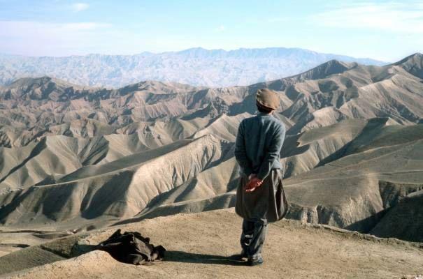 Massoud devant l'horizon afghan