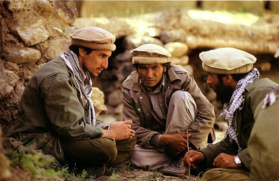 Massoud et ses moudjahidin