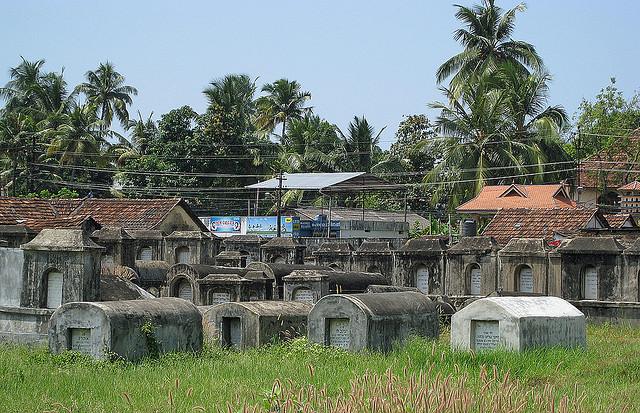 Jewish cemetery of Cochin