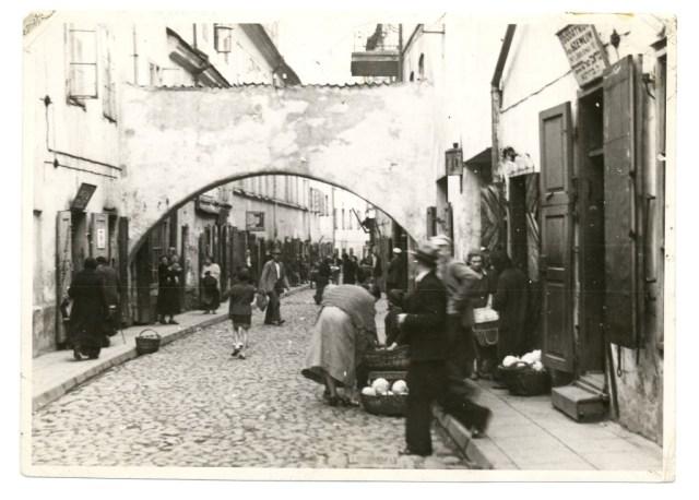 Quartier juif de Vilna en 1920