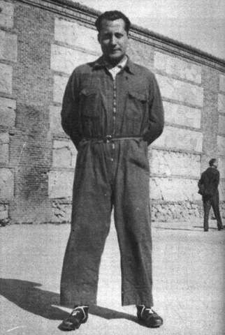 José Antonio Primo de Rivera (1903-1936) dans la prison d'Alicante