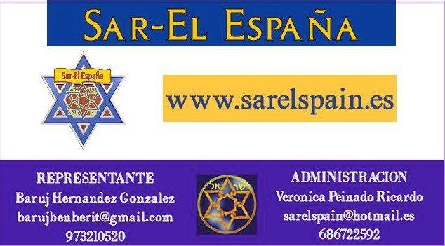 Carte Sar-El Espagne