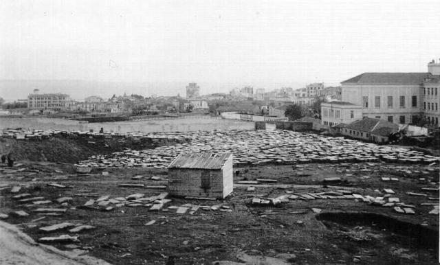 Cimetière juif de Salonique détruit par les nazis