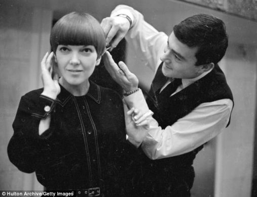 Vidal Sassoon et Mary Quant
