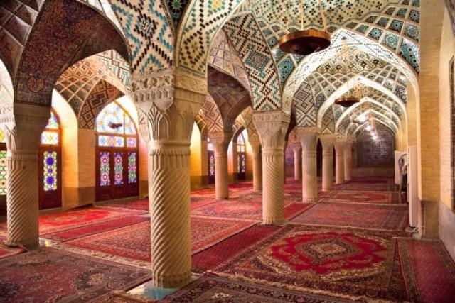Neyriz, la mosquée.