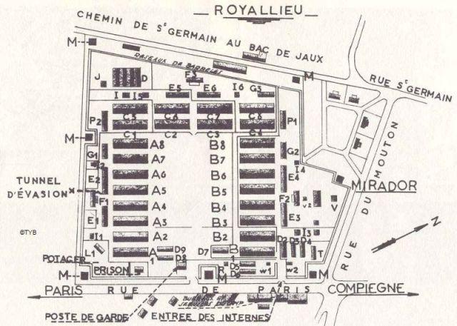 Camp de Royallieu Compiègne