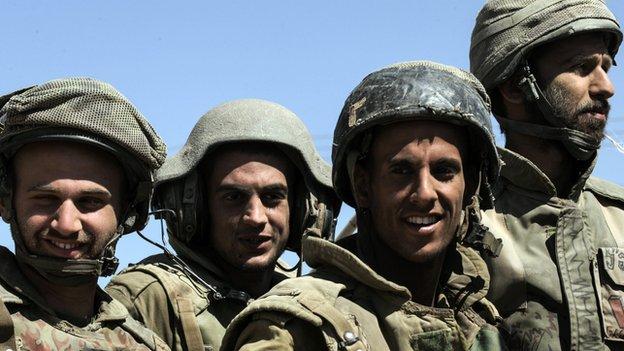 Des soldats de Tsahal