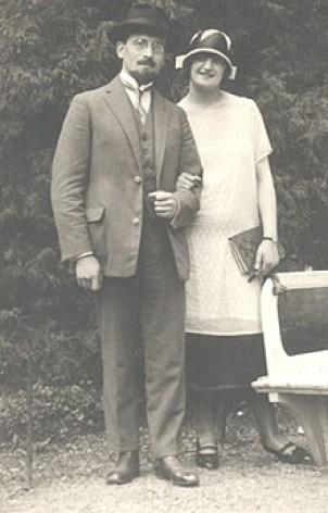 Jacob Kaplan et sa femme