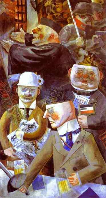 GROSZ-1926-Elspilarsdelasocietat