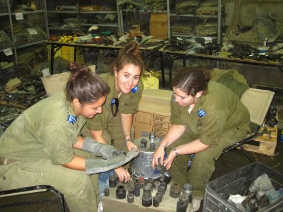 Volontaires au Sar-El