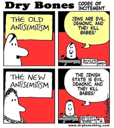 Dry Bones, nouvel antisémitisme