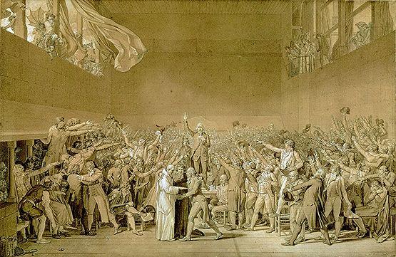 David Jacques Louis (1748-1825). Versailles, châteaux de Versailles et de Trianon. MV8409;INVDessins736;RF1914.