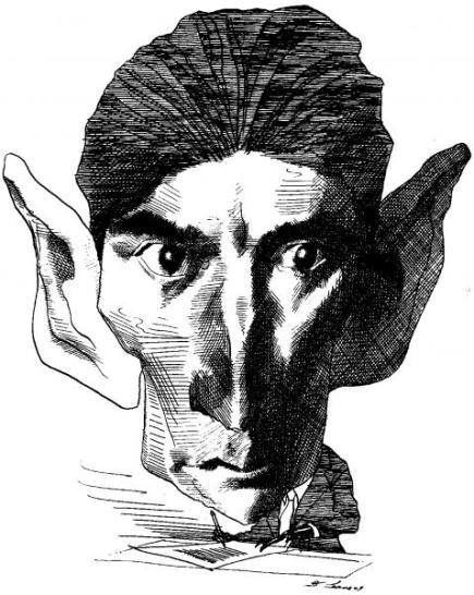 Franz Kafka par David Levine