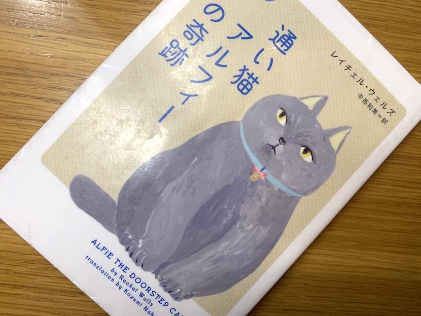 通い猫アルフィーの奇跡の表紙