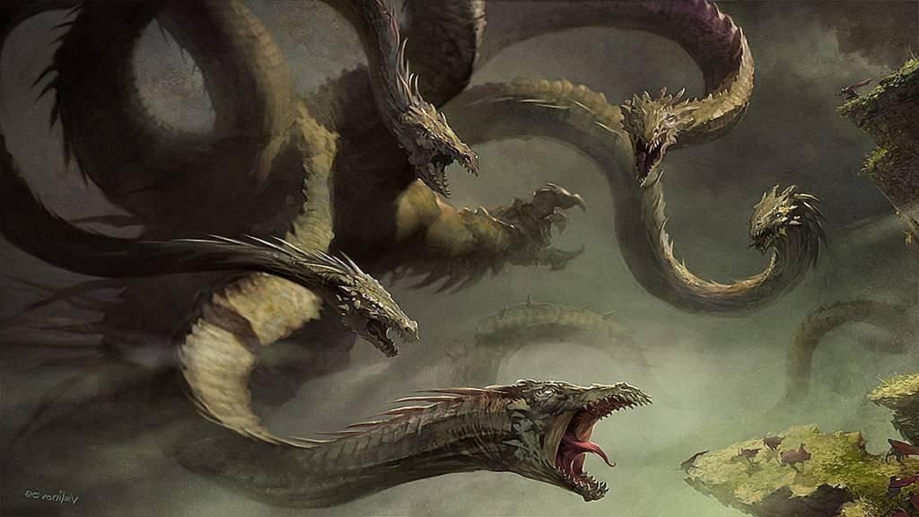 Лернейская Гидра – обязательный персонаж сказаний о подвигах Геракла. Геракл побеждает лернейскую гидру