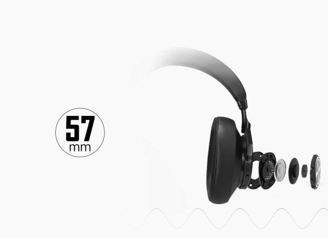 Bluedio T7 słuchawki bezprzewodowe z redukcją szumów