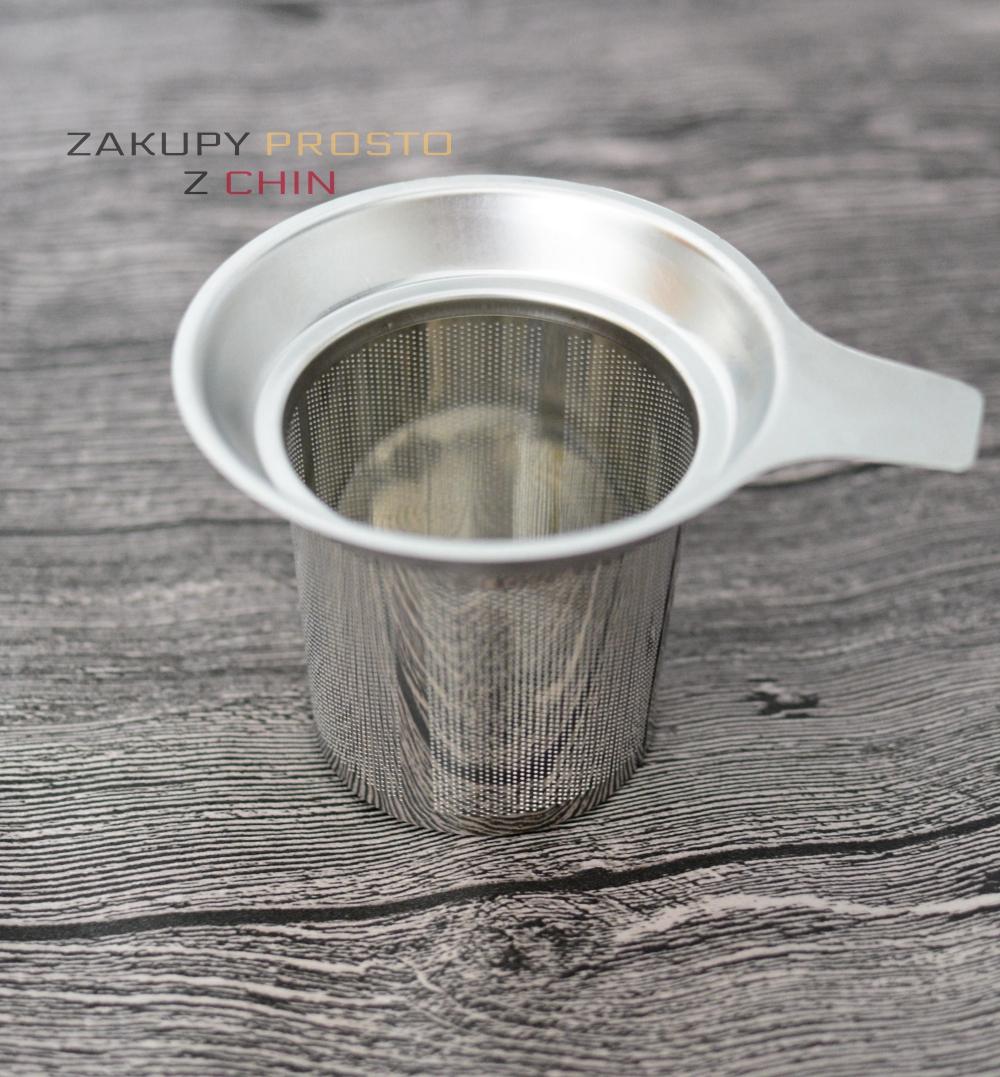 Metalowe sitko do parzenia kawy herbaty