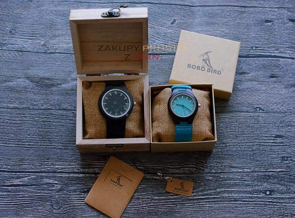 Drewniane zegarki BoboBird