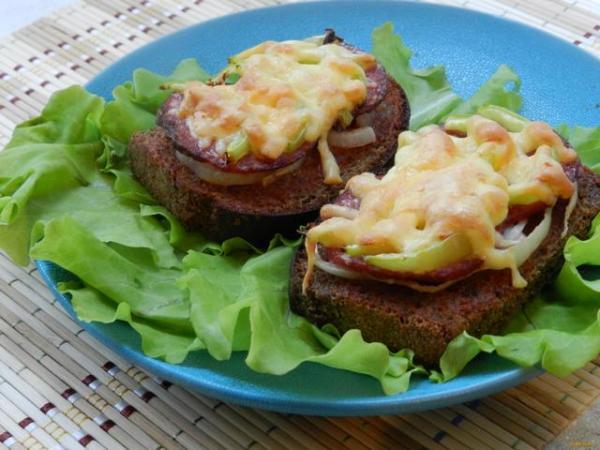 Бутерброд с колбасой: пошаговый рецепт с фото