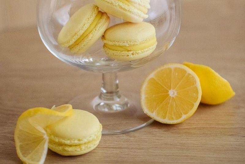 Makrónka citrón. Ružová cukráreň Nitra