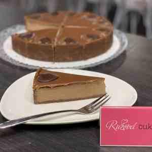 Cheesecake čokoládový. Ružová cukráreň Nitra