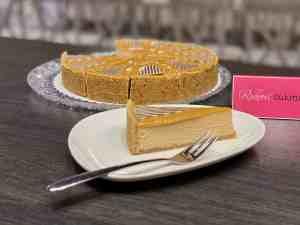 Cheesecake karamelový z Ružovej cukrárne Nitra
