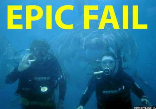 shark fail