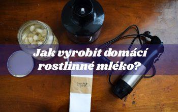 Jak vyrobit domácí rostlinné mléko?