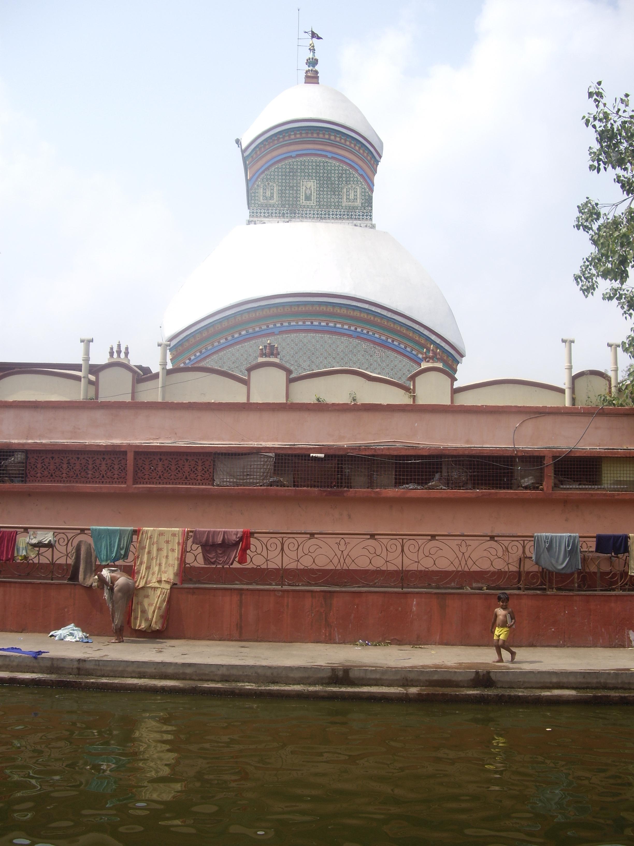 Ο ναός Kalighat προς τιμήν της Μαύρης Κάλι και της υπέρτατης θηλυκής αρχής
